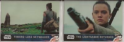 Star Wars - The Force Awakens Series 2 - Cards #101+102 von Topps 2016