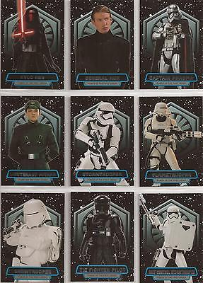 Star Wars - The Force Awakens Series 2 - Power of the First Order-Set Topps 2016
