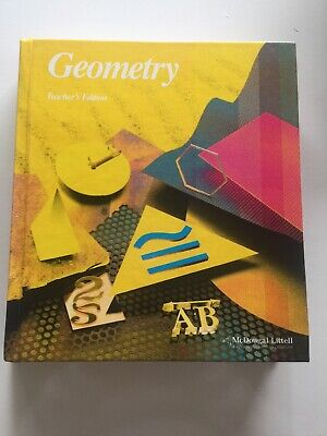 Jurgensen GEOMETRY TEACHER'S EDITION TE 2000 McDougal Littell Geometry Teacher's