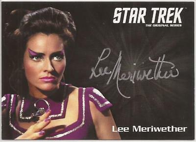 Lee Meriwether as Losira Autograph Card Captains*s Collection Star Trek TOS