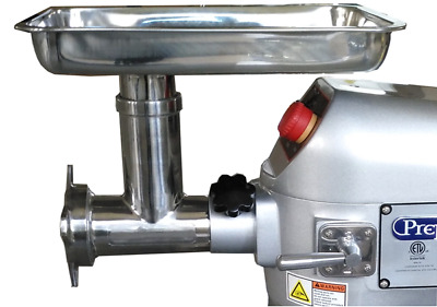 Meat Grinder Chopper Attachment for Univex power drives PM-91 Prep Mate M-20 etc