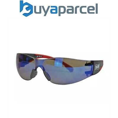 Scan Safety Glasses Specs Blue Flexi Almost Unbreakable SCAPPEFSBLUE