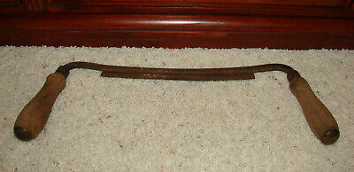 Vintage Draw & Shave Woodworking~Carpenters Knife~ 9 in Plane Hand Tool