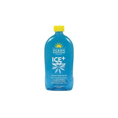Ocean Potion Ice and Skin Repair - Instant Burn Relief Gel - 20.5 fl oz