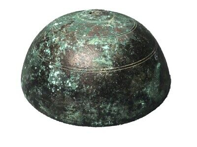Rare Roman Bronze Temple Bell, Large & Heavy