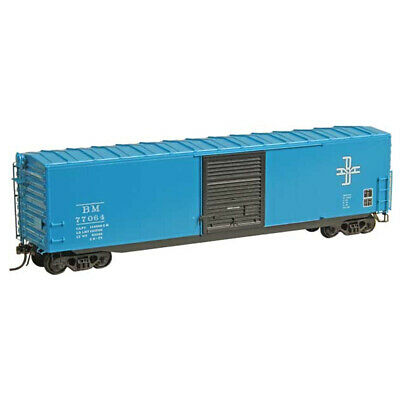 Kadee #6025 Boston & Maine BM #77064 50' PS1 Boxcar 9 Ft. Youngstown : HO Scale