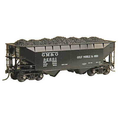Kadee #7521 Gulf Mobile & Ohio Road #32801 50 Ton AAR Open Bay Hopper : HO Scale