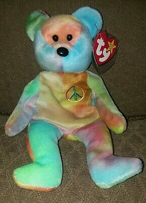 cdb70e16a54 LOT OF 4 TY RETIRED Beanie Baby Babies Ty 2K Valentino The Beginning ...