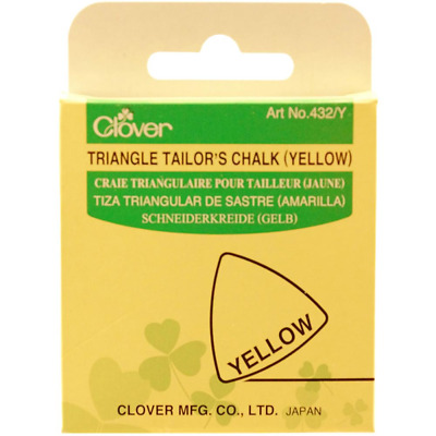 Clover Triangle Tailors Yellow Chalk