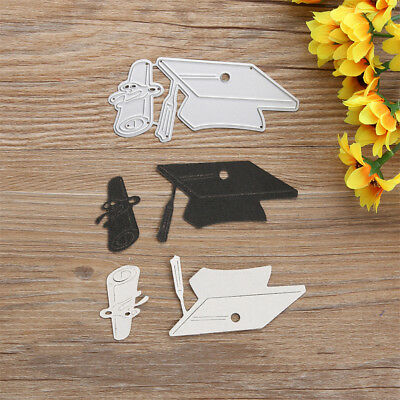 Doctor Cap Design Metal Cutting Dies For DIY Scrapbooking Album Paper Cards G*HW