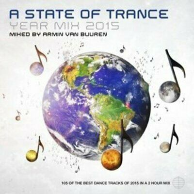 Armin van Buuren - A State of Trance Year Mix '15 - Double CD - New