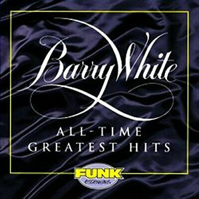 Barry White - All-Time Greatest Hits - CD - New