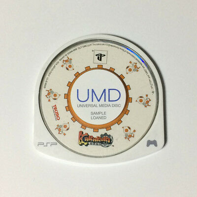 USED PSP Disc Only KARAKURI JAPAN Sony PlayStation Portable import Japanese game