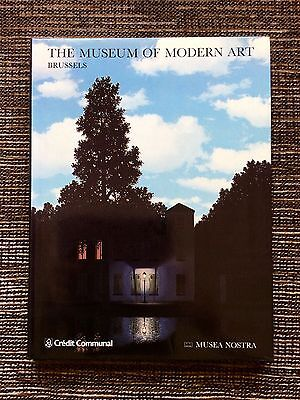 VERY RARE 1988 The Museum of Modern Art: Brussels Royal Museum Fine Arts Belgium