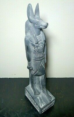 RARE ANCIENT EGYPTIAN ANUBIS Statue Stone Antique 1518-1335 BC
