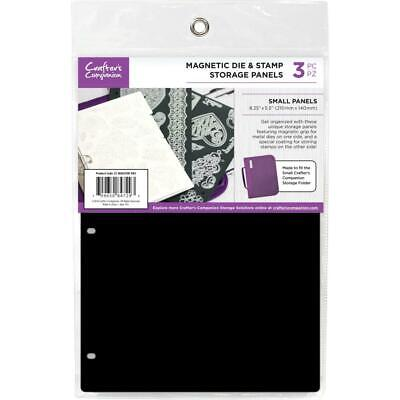 "Crafter's Companion 8.25""X5.5"" Magnetic Storage Panels 3/Pkg - Small"