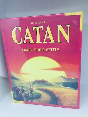 NEW SEALED Catan Board Game 5th Edition: Trade Build Settle, 4Players