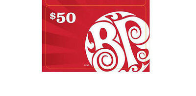 BOSTON PIZZA Gift Card 2015 COLLECTIBLE NO VALUE RECHARGEABLE !