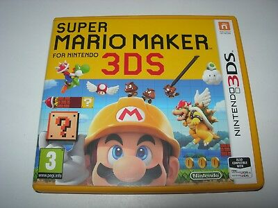 Nintendo 3DS : SUPER MARIO MAKER - Box ONLY - NO GAME!!!!