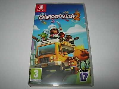 Nintendo Switch : OVERCOOKED 2 - Box ONLY!! - NO Game!!