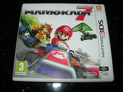 Nintendo 3DS / 2DS : MARIO KART 7  - Box ONLY - NO GAME!!!!