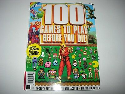 Retro Gamer Special Edition : 100 GAMES TO PLAY BEFORE YOU DIE