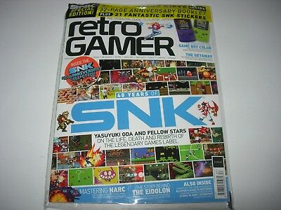 Retro Gamer Issue 187 : 40 YEARS OF SNK / NARC / STREETS OF RAGE 4 / GB COLOR ++