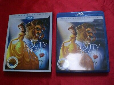Beauty and the Beast 25th Anniversary Edition Blu-ray and DVD Combo