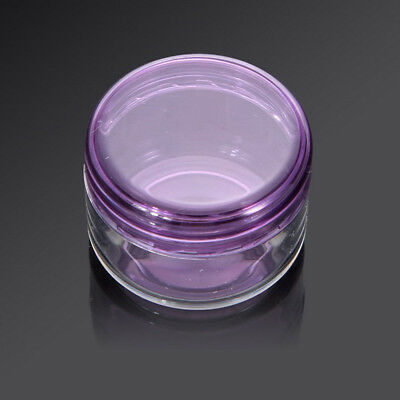 Pretty 10Pcs 5g/ml Cosmetic Cream Container Empty Jar Pot Eyeshadow Makeup Face