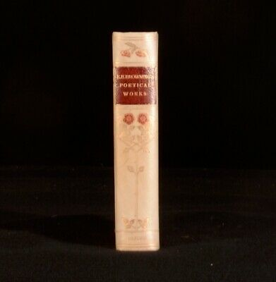 1904 The Poetical Works of Elizabeth Barrett Browning Complete Edition