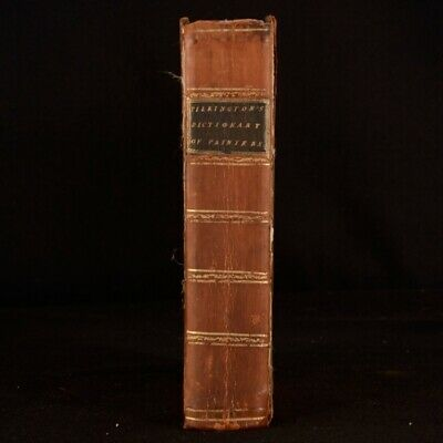 1797 The Gentleman's and Connoisseur's Dictionary of Painters Pilkington Scarce