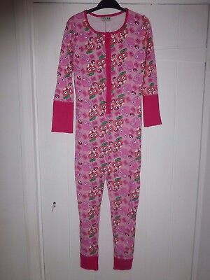 BNWOT NEXT Moshi Monsters pink sleepsuit 9 years