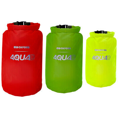 Oxford Aqua D WP Packing Cubes (x3) Motorcycle Motorbike Luggage  Bags OL901