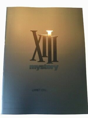 XIII Mystery - Livret collector dessins - Van Hamme (Largo Winch, Thorgal... )