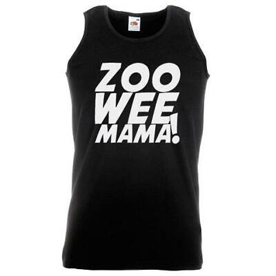 Unisex Black Zoo Wee Mama Vest Diary Wimpy Kid Book Movie