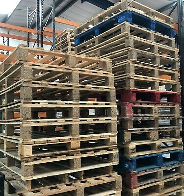 Heavy Duty  Wooden UK Pallet