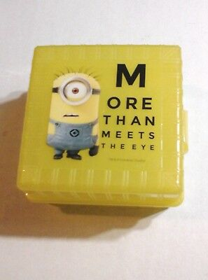 DESPICABLE ME BENTO BOX More Than Meets The Eye KEVIN Lunchbox DISNEY MINIONS