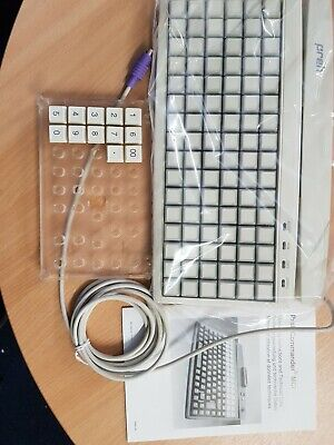 Preh MCI96 POS Programmable 96 Blank Key PS/2 Keyboard (Numeric keys included)