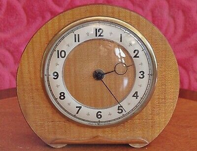 Vintage British Carriage Alarm Clock