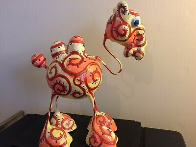Paper Mache Camel - Handcrafted & Hand Painted - Very Unique Home Decor !!