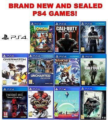 Ps4 Juego Lote ! Black Ops Uncharted Call Of Duty Crash Overwatch Ratchet Lego