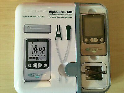 Alpha Stim AID Safe Relief From Anxiety Depression Insomnia