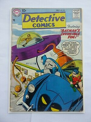 Detective Comics, Batman 257 1959, GD 2.0 Bat-Mobile cover