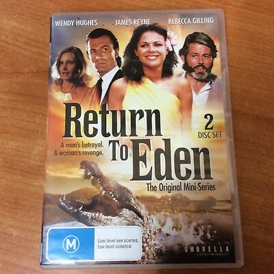 Return to Eden -The Original Mini-Series - 2 Disc Set - Excellent Condition - R4