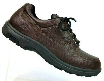 6203a7f00e2e8 Dunham New Balance Brown Leather Waterproof Oxford Walking Shoes Men's 11.5  D