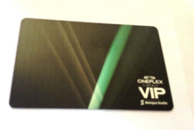 Cineplex Mint Gift Card  * Vip * Movies No Value Rechargeable !