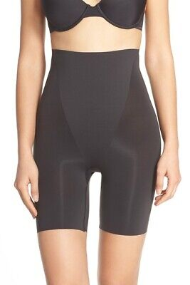 Spanx 2123 Trust Your Thinstincts High Waisted Black Short - size XL