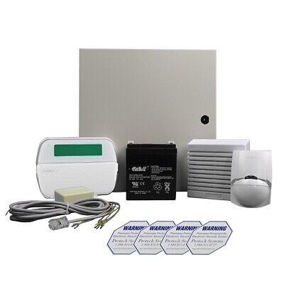 DSC wireless ready Power series alarm system kit with deluxe LCD pad (KIT32-219)
