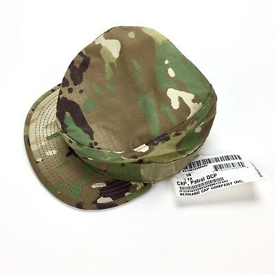 e76d95ddd26 NEW BDU ARMY Field Cap Hat Military Woodland Camo Size 7 1 8 Cold ...