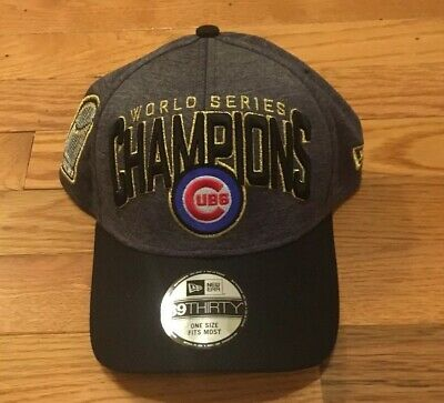41aedd425aaa7f Chicago Cubs New Era 2016 World Series Champions Locker Room Players Hat  Cap NEW